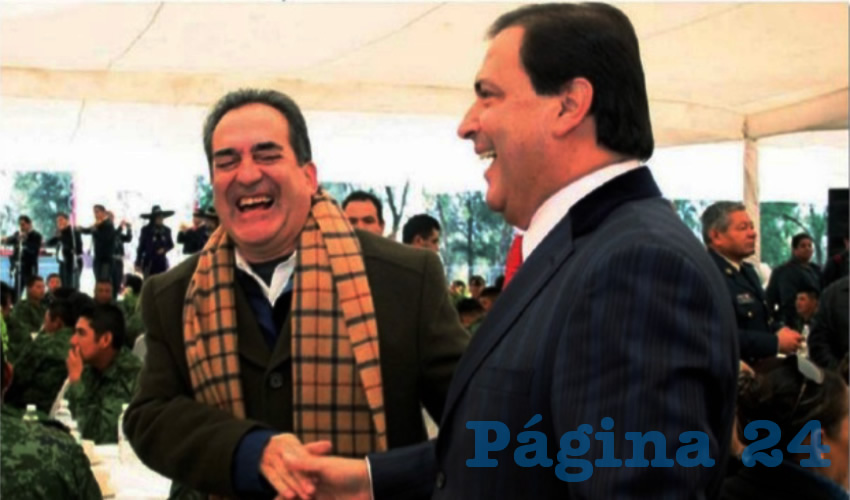Carlos Lozano de la Torre y Luis Armando Reynoso Femat ...amistad simulada: nunca le perdonó haber perdido la elección de 2004...