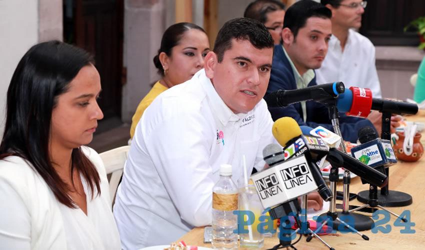 Adán Valdivia López, alcalde electo de Calvillo