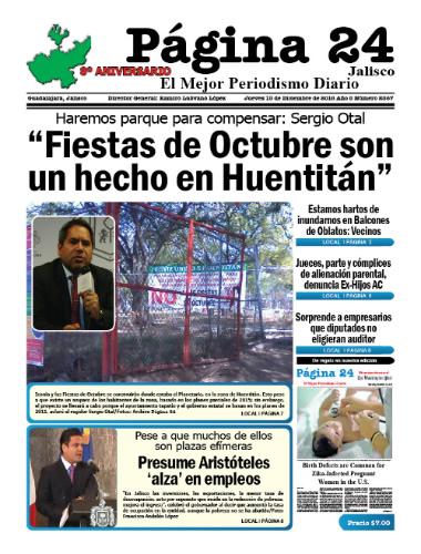 Aniversario 8º de Página 24 Jalisco ... ¡y tan campantes!..
