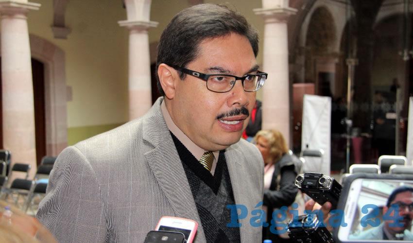Alfonso Vázquez, director del Instituto Zacatecano de Cultura, especificó que el día 25 de diciembre, estará abierto el Museo Zacatecano, el Museo Rafael Coronel y el Museo Francisco Goitia de las 11 de la mañana hasta las 5 de la tarde. (Rocío Castro Alvarado)