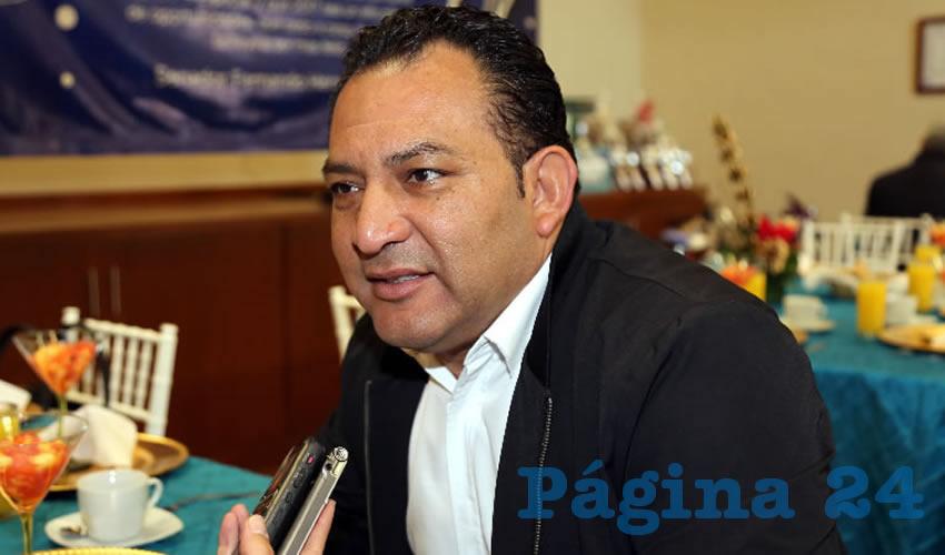Rodolfo Téllez Moreno, presidente del CDM del PAN