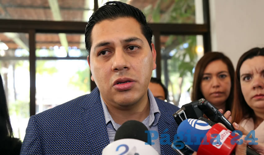 Francisco Javier Luévano Núñez, secretario general de Gobierno (Foto: Eddylberto Luévano Santillán