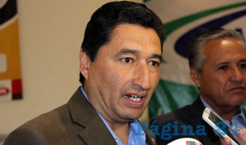 Miguel Ángel Huizar, presidente del Colegio de Ingenieros