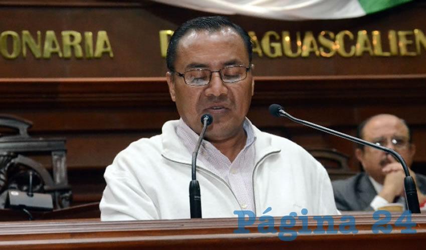 Raymundo Durón Galván, diputado local