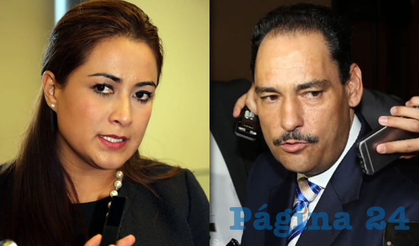Teresa Jiménez Esquivel, alcaldesa electa de Aguascalientes | Juan Antonio Martín del Campo, alcalde de Aguascalientes