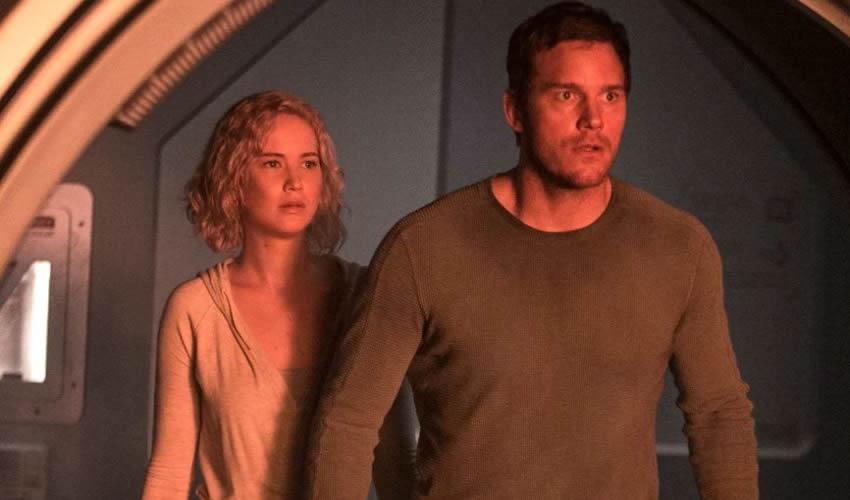 Pratt y Lawrence forman una improbable pareja en el fin del mundo. Demasiado bellos para ser reales (Foto: Cortesía)