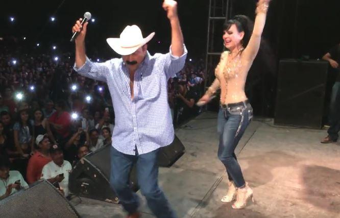Layín Baila con Maribel Guardia en su Cumpleaños