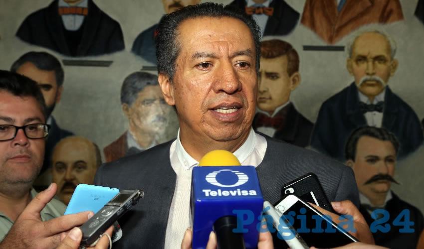 Sergio Augusto López Ramírez, diputado local