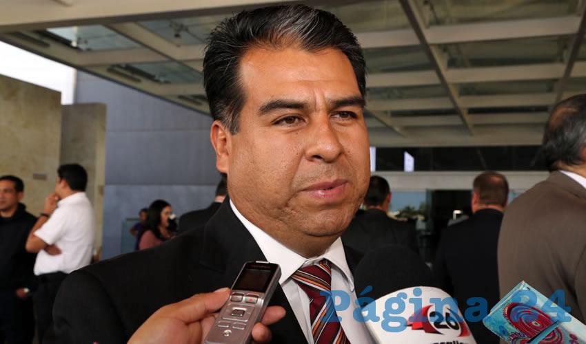 Cuauhtémoc Escobedo Tejada, alcalde de Pabellón de Arteaga