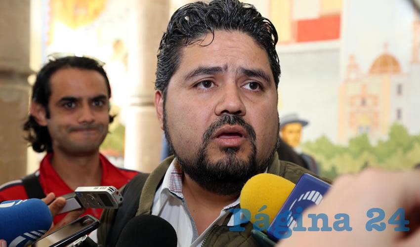 Iván Sánchez Nájera, diputado local