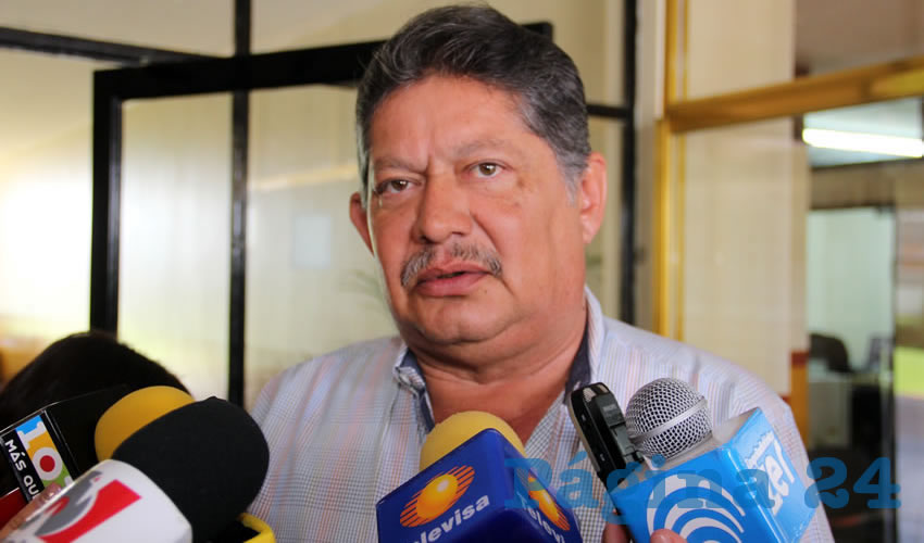 Roberto Mora Márquez, secretario general del Sindicato de Trabajadores de Autotransporte Urbano