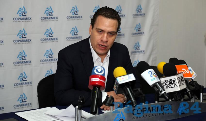 Francisco Ruiz López, presidente estatal de la Coparmex (Foto: Eddylberto Luévano Santillán)