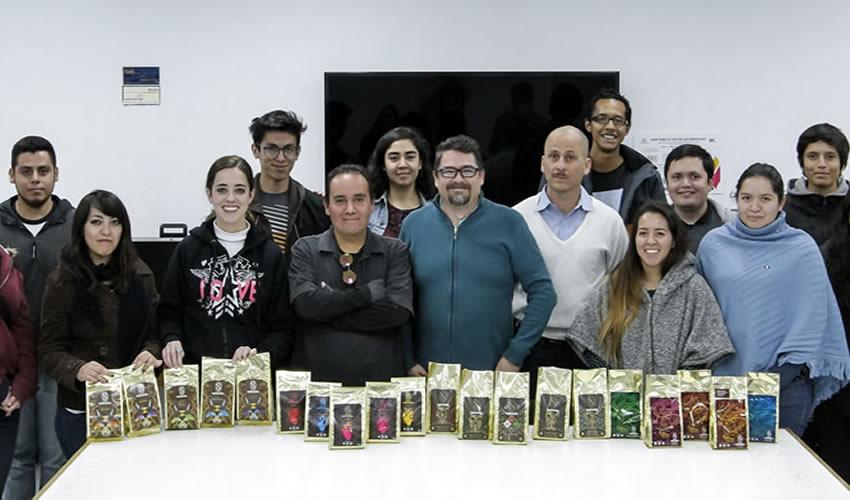 Los alumnos realizaron una investigación a fondo sobre la cultura del municipio para generar etiquetas y envases acordes a cuatro tipos de café