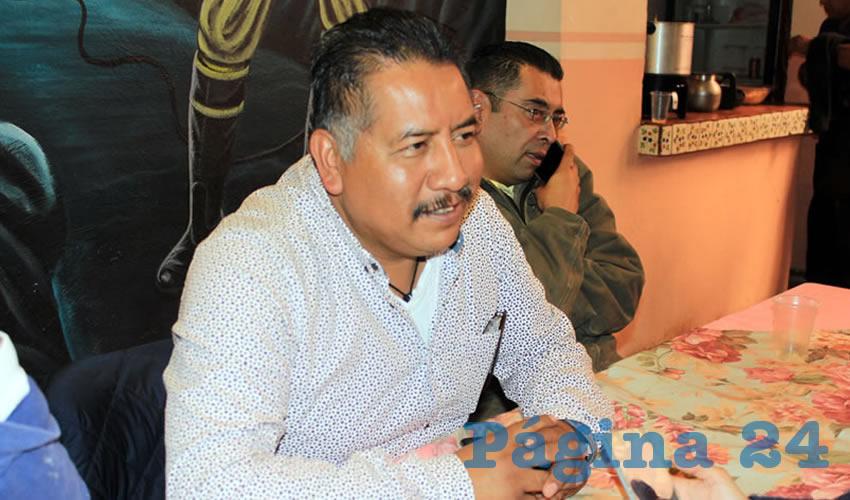 """Felipe Pinedo Hernández: """"Todo esto es una ofensa para el pueblo de Zacatecas, que en su gran mayoría vive con el salario mínimo"""" (Foto: Rocío Castro)"""