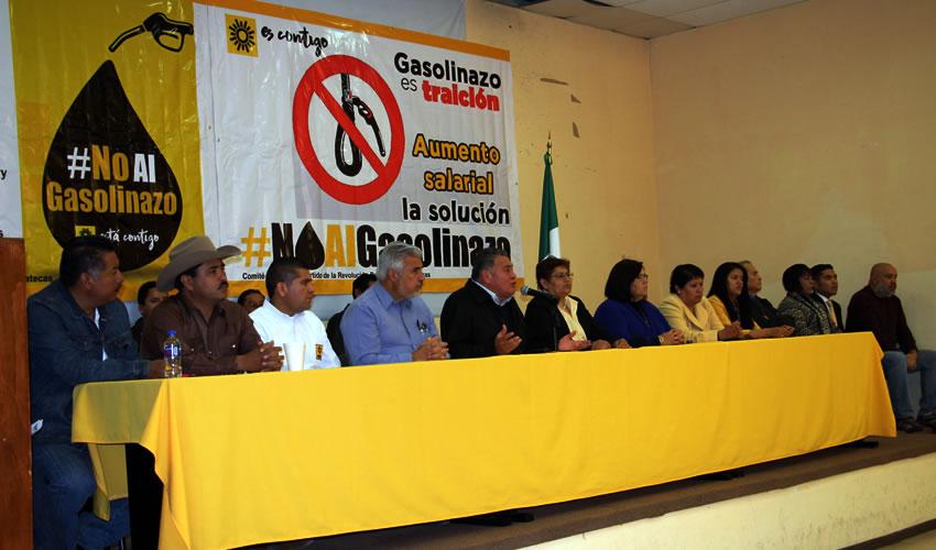 El PRD Realizará Jornadas Nacionales en Contra del Gasolinazo