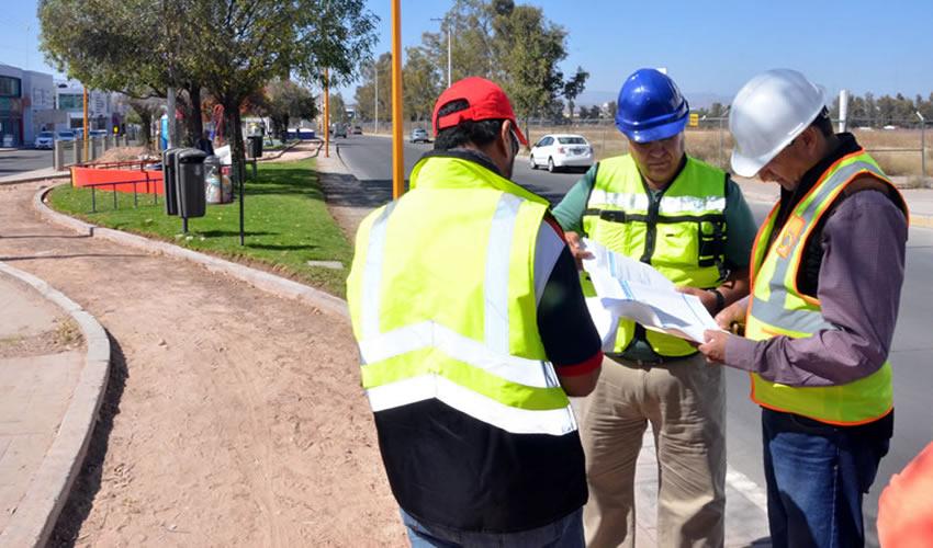 Supervisa Gobierno Municipal Obras en Canal Interceptor y Corredor Ferroviario