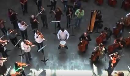 Flashmob Orquesta Sinfónica de Aguascalientes
