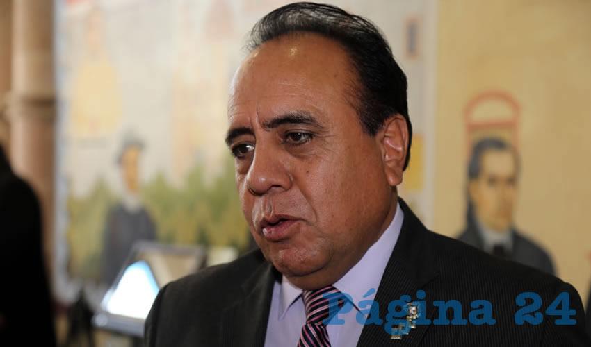 Francisco Frausto Ruiz Esparza, presidente del Colegio de Abogados de Aguascalientes