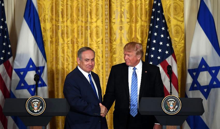 Trump y Netanyahu se Comprometen a  Forjar un Acuerdo de paz en Medio Oriente