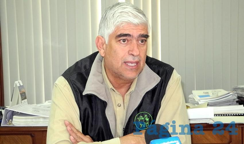 José Luis González Enríquez, presidente de Cegalac (Foto: Eddylberto Luévano Santillán)