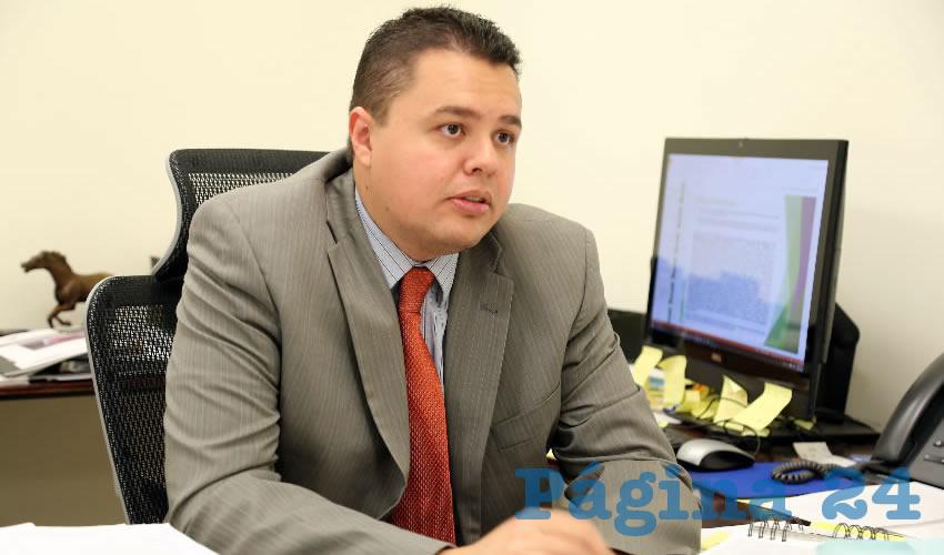José Antonio Guerra Caparrós, delegado de la Prodecon en Aguascalientes