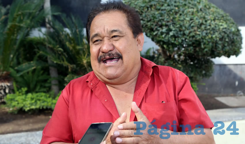 Manuel Medina Ortega, presidente de la asociación Frente de Lucha Campesina