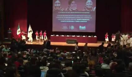 Acto de Reconocimiento de Inocencia y Disculpa Pública para las Tres Mujeres Hñähñú.