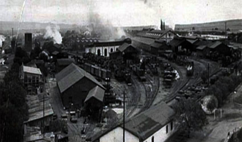 Los talleres del ferrocarril en Aguascalientes