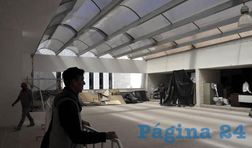 En 3 Semanas Terminarán de Remodelar la Presidencia Municipal de Guadalupe
