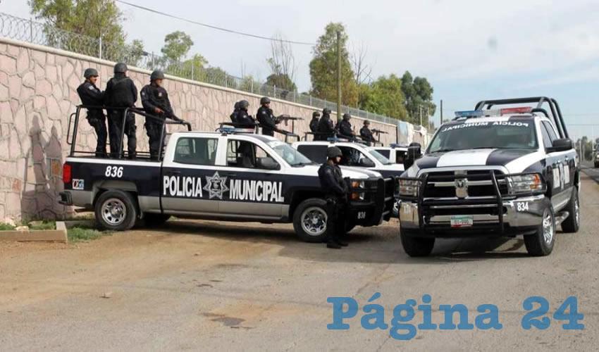 Capturan Municipales a Ladrón en el Interior de una Vivienda