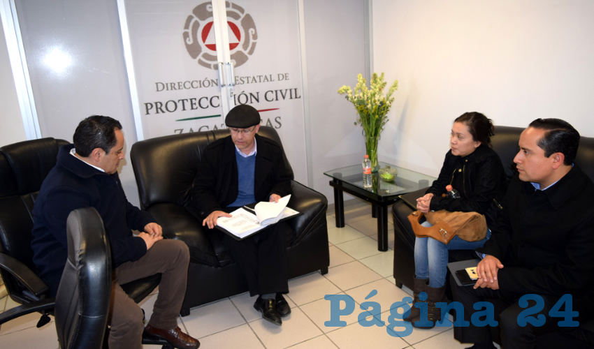 Protección Civil Colabora con el Tribunal Superior de Justicia Para Elaborar su Programa Interno