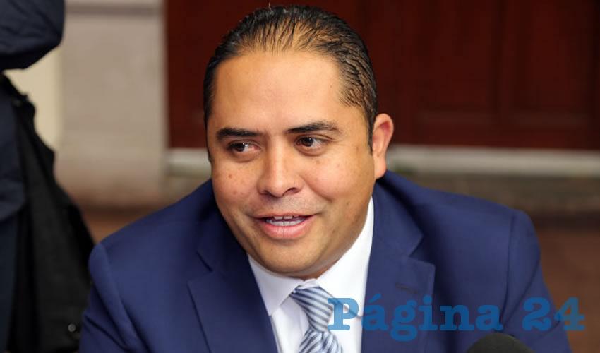 José de Jesús Aranda Ramírez, director de Reglamentos del Municipio capital