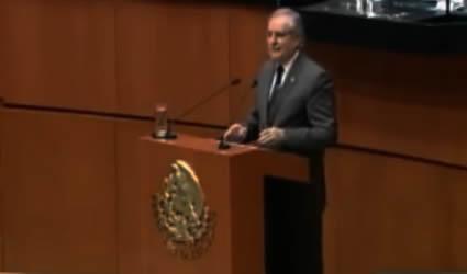 Crear una Educación con Valores que Contribuyan a la paz: Senador Romo Medina
