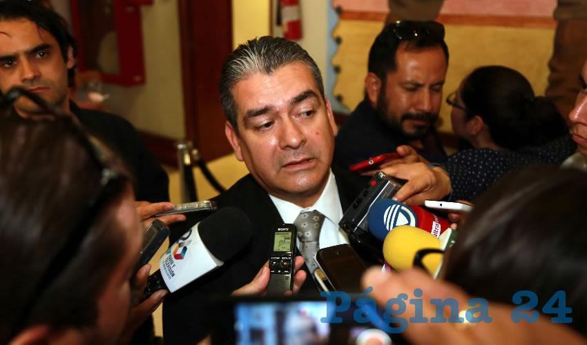 Sergio Escalante, titular del OSFAGS