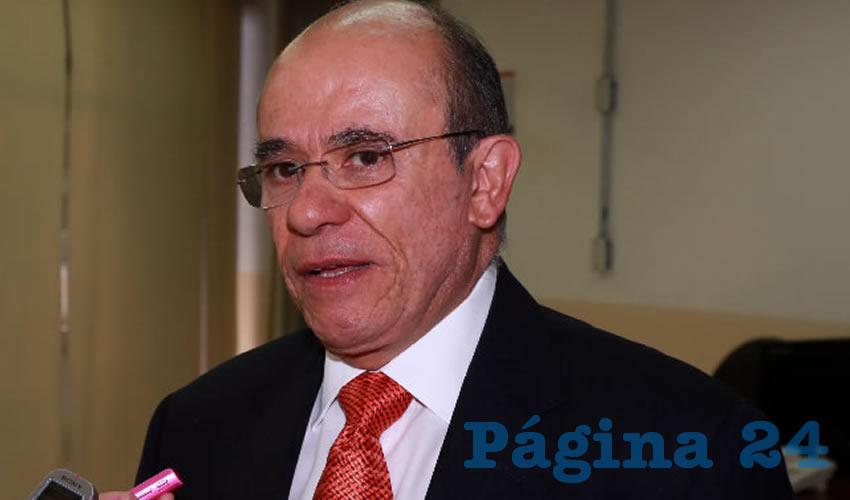 Fernando Palomino Topete, delegado estatal del ISSSTE (Foto: Eddylberto Luévano Santillán)