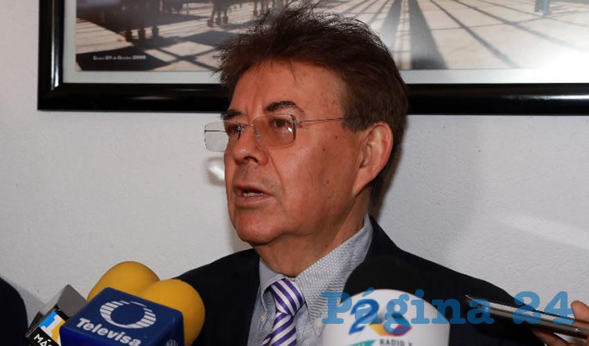 Basilio Romo Velázquez, director del Hospital Hidalgo (Foto: Eddylberto Luévano Santillán)