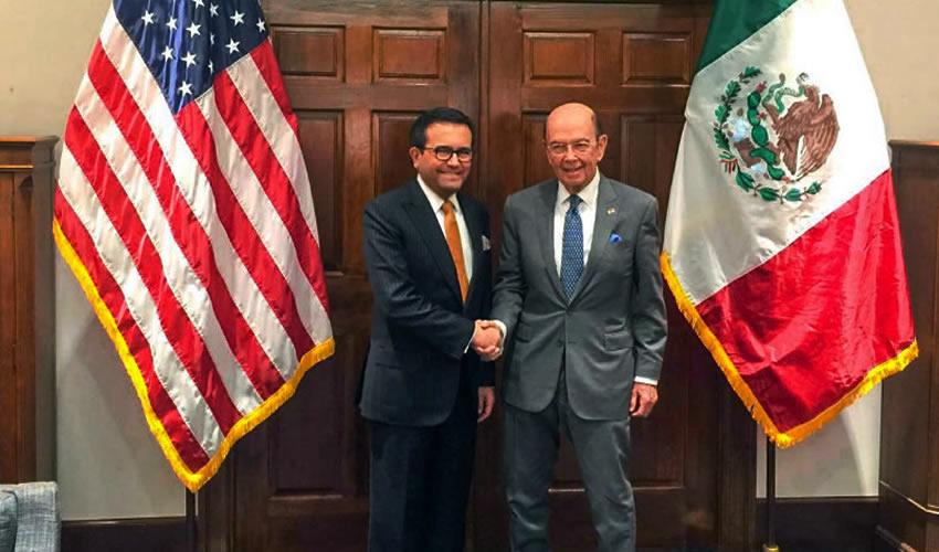 En Junio o Julio, las Negociaciones  Sobre el TLCAN: Guajardo y Ross