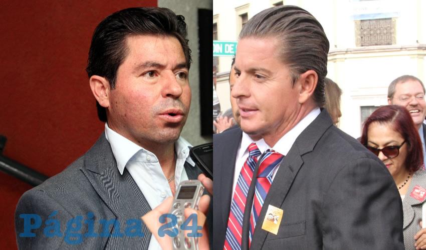 """Jorge López Martín y José Luis Morales Peña ...José Luis llamaba """"pendejo"""" a Jorge porque ninguna demanda le ganaba..."""