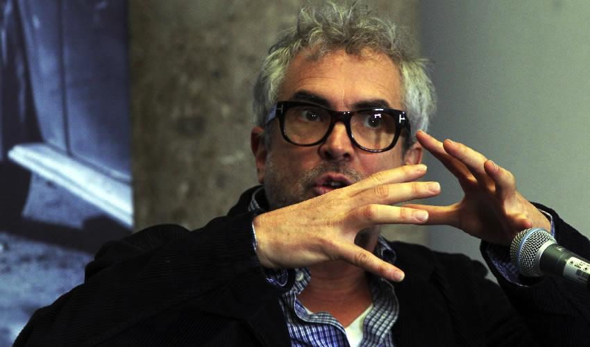 """Ciudad de México.- Alfonso Cuaron habló del término de la filmación de la película """"Roma"""" (Foto: Antonio Cruz/ Cuartoscuro)"""