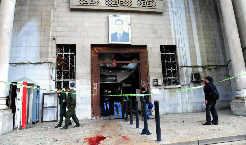 Más de Treinta Muertos por Atentados en Damasco Siria