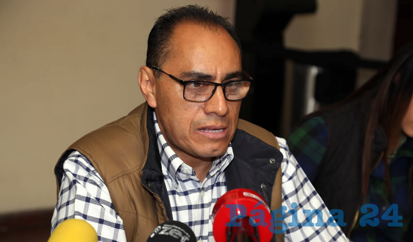 Jesús Adrián Castillo Serna, secretario de Desarrollo Urbano Municipal (Foto: Eddylberto Luévano Santillán)