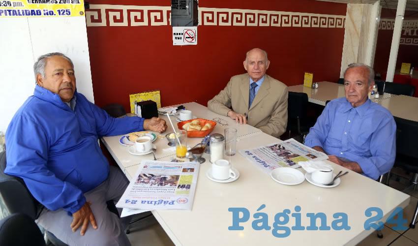 En el restaurante Mitla almorzaron Javier Evangelista Pérez, Víctor Manuel González Gómez y Carlos López Martín