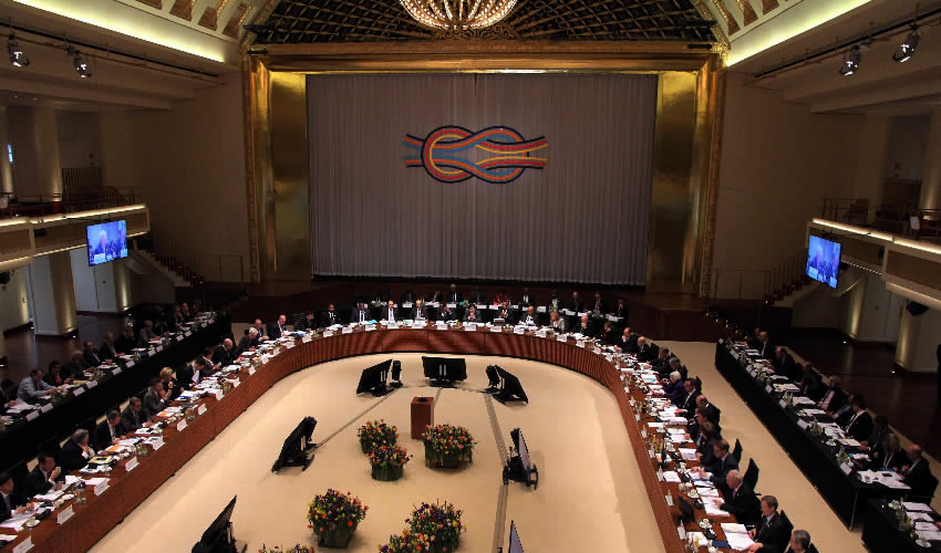 Baden-Baden, Alemania.- La reunión del G20 en el Sur de Alemania ayudará a establecer el tono para el comercio y finanzas internacionales (Foto: Xinhua)