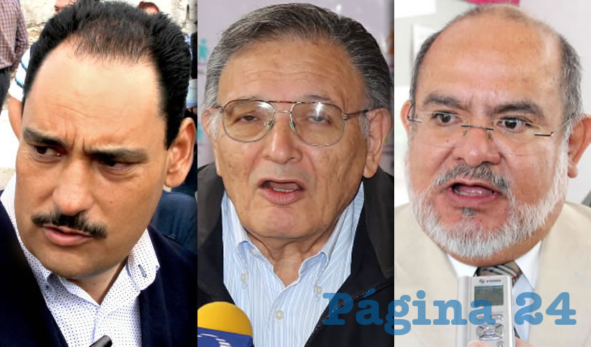 Juan Antonio Martín del Campo | Carlos García Villanueva | Eduardo Lenin Ruelas Olvera