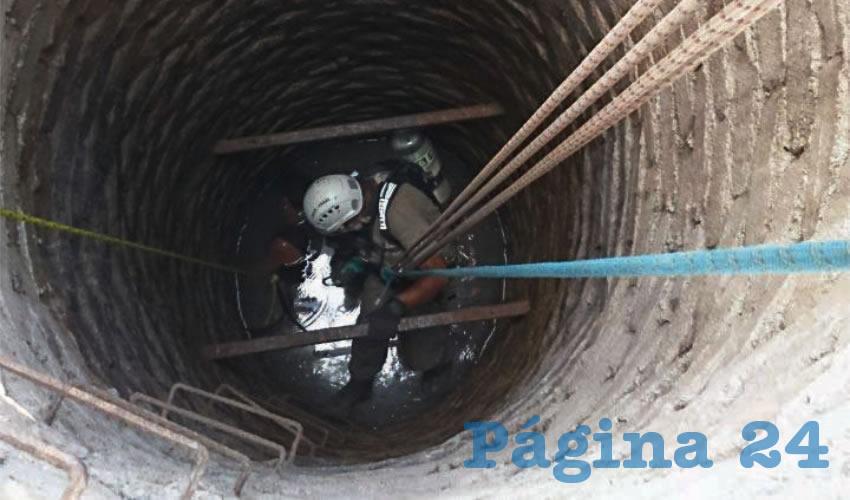 Los gases emitidos por una bomba de agua fueron la perdición de un hombre que limpiaba un pozo/Foto: Especial