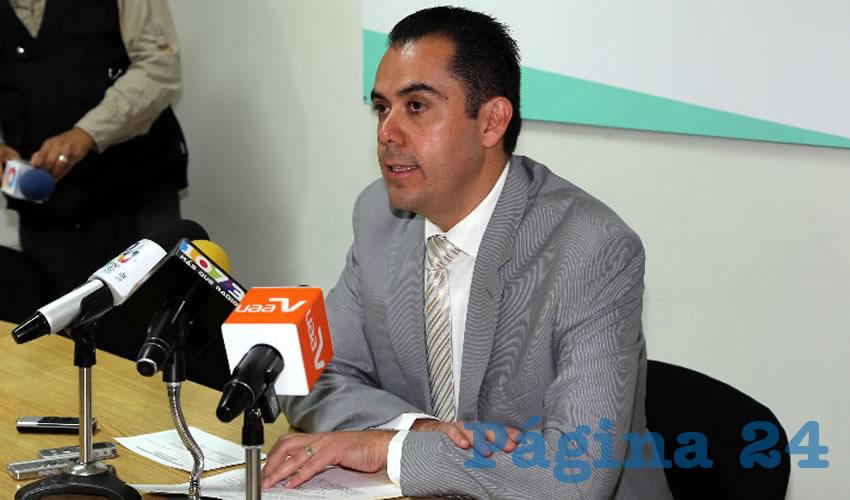 Manuel Alejandro González Martínez, secretario de Desarrollo Rural y Agroempresarial