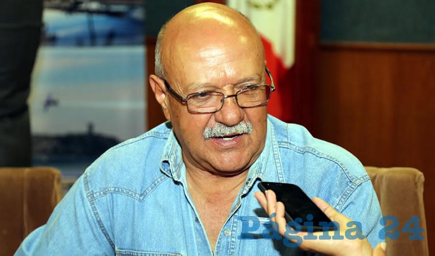 Rubén Ángel Berumen de la Cerda, presidente estatal de la Canaco