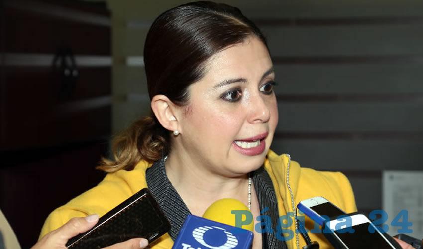 Carmen Lucía Franco Ruiz Esparza, directora general del Registro Civil