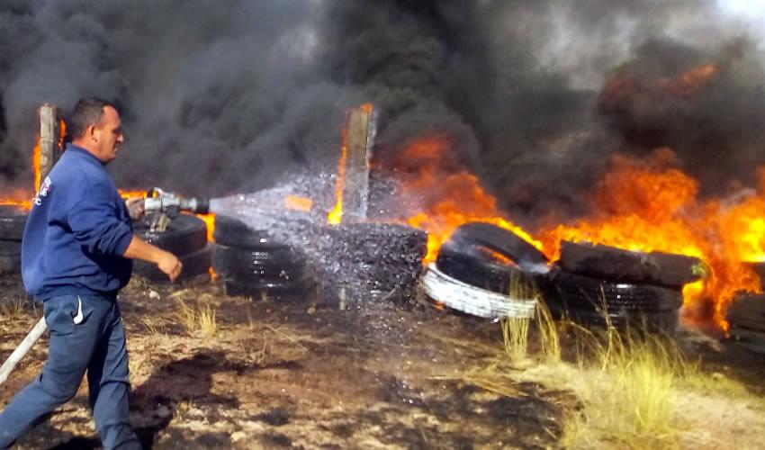 En lo que va del año se han registrado mil 400 incendios, la mayoría provocados, lo que representa un peligro y genera alta contaminación para el medio ambiente