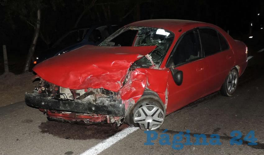 "Así terminó el vehículo Ford Mercury que manejaba Juan Manuel ""N"" ""N"""